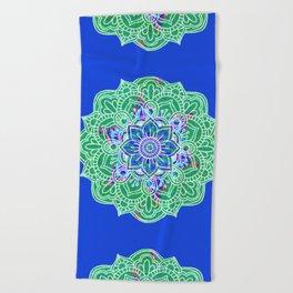 Mandala Royale Beach Towel