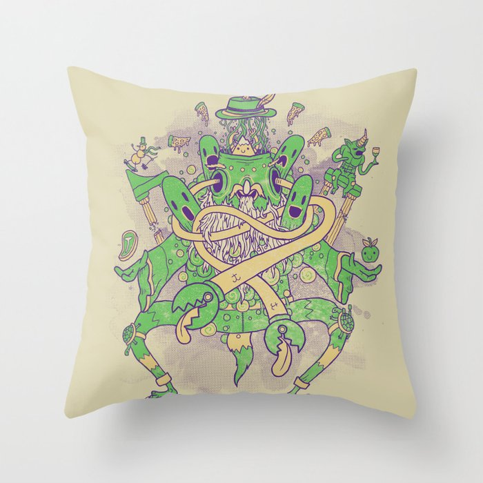 When you're strange Throw Pillow
