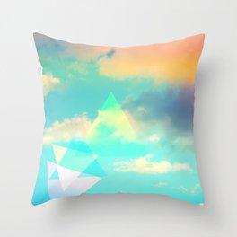 Colorscape #1 Throw Pillow