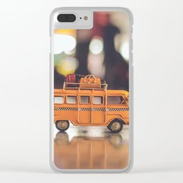 Travel toy Clear iPhone Case