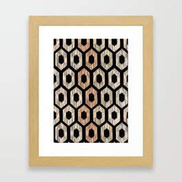Animal Print Pattern Framed Art Print