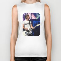 niall Biker Tanks featuring Niall by clevernessofyou