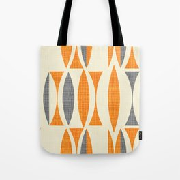 Seventies  orange Tote Bag