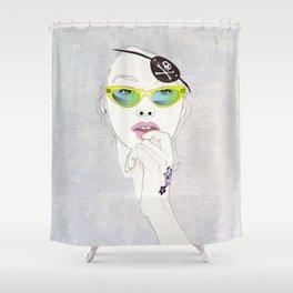 Pirates Mania Shower Curtain