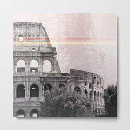 Colosseum Rome Italy Metal Print