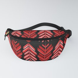 Red feathers Fanny Pack