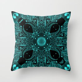 Tentacle void Throw Pillow