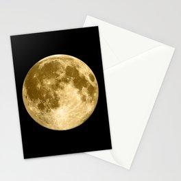 Golden Moonage Stationery Cards