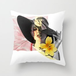 Classy and a bit Sassy Throw Pillow