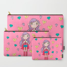 Suupergirl Carry-All Pouch