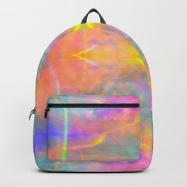 Prisms Play of Light 2 Mandala Backpack