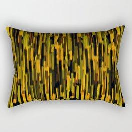vertical brush orange version Rectangular Pillow