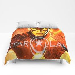 The Star Of Star Labs Comforters