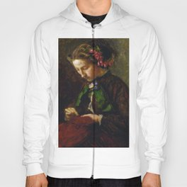 John Everett Millais - Euphemia 'Effie' Chalmers Gray, Mrs John Ruskin (1828-1898), later Lady Milla Hoody
