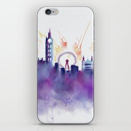 London Skyline iPhone Skin