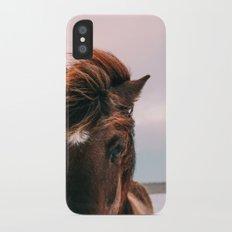 Horse #sunset Slim Case iPhone X