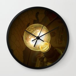 Let There Be Light - II Wall Clock