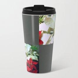 Mixed color Poinsettias 1 Blank Q6F0 Travel Mug