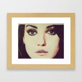 Mystic Eyes Framed Art Print