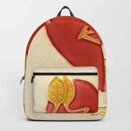 Art Nouveau Heart Backpack