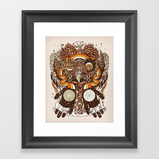 Dreams of a Feather Framed Art Print