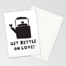 Get Kettle on Love Stationery Cards