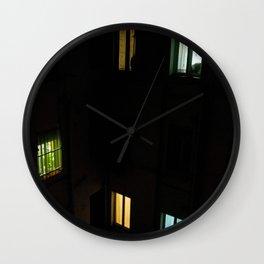 Live at night Wall Clock