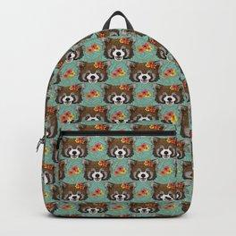 Tropical Red Panda Backpack