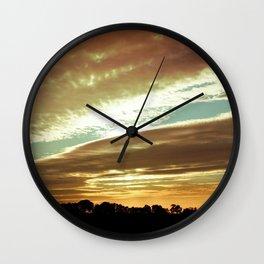Dawn On The Side Wall Clock