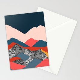 Graphic Mountains X Stationery Cards
