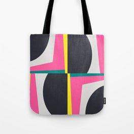 Modern Geometric 65 Pink Tote Bag