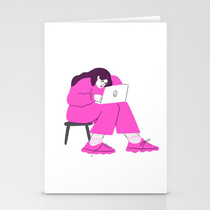 "signing off emails with ""best"" Stationery Cards"
