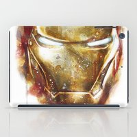 iron man iPad Cases featuring Iron Man by beart24