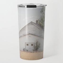 Church, Fort Clark, ND 3 Travel Mug