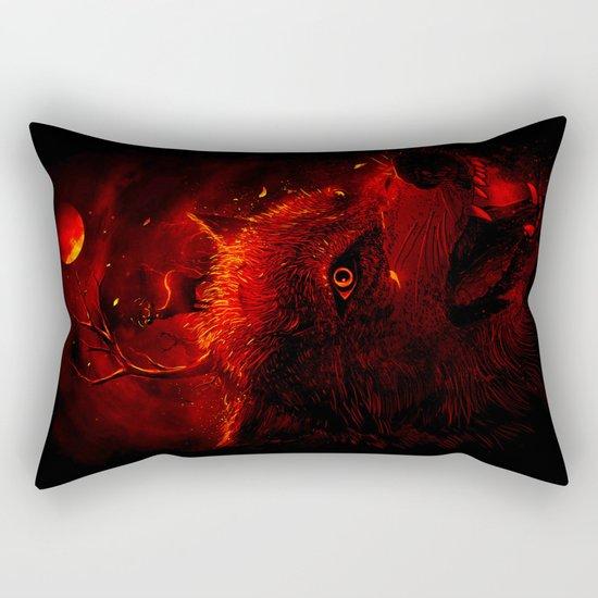 Red Dream Rectangular Pillow