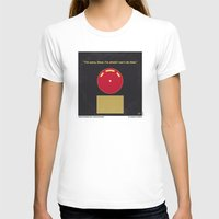 2001 a space odyssey T-shirts featuring No003 My 2001 A space odyssey 2000 minimal movie poster by Chungkong