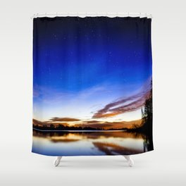 Colorful heaven Shower Curtain