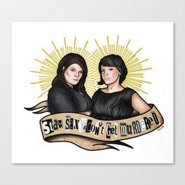 SSDGM Saints Canvas Print