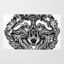 Spirit Wolf Rug