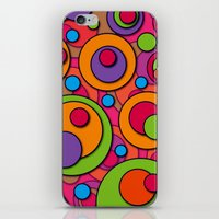 polka dots iPhone & iPod Skins featuring Polka Dots by Shelly Bremmer