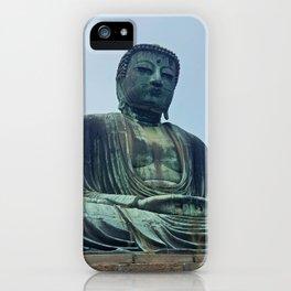 Kamakura Daibutsu iPhone Case
