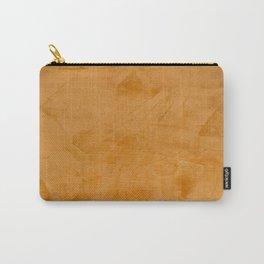 Dante Orange Stucco - Luxury - Rustic - Faux Finishes - Corbin Henry Venetian Plaster Carry-All Pouch