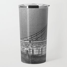 Albert Bridge London Digital Art Travel Mug
