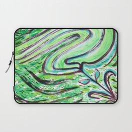 A Windy Green Laptop Sleeve