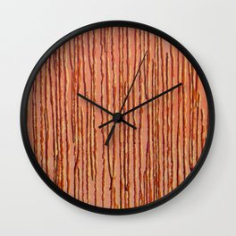 Let Things Fall Where They Lie #2 Wall Clock