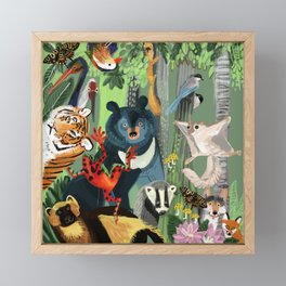 Ussuriland  Dersu´s dream Framed Mini Art Print