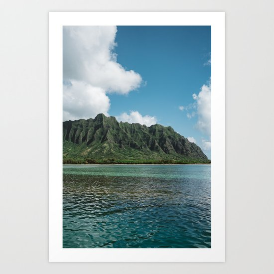 Hawaiian Mountain II Art Print