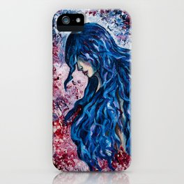 Wind in my hair iPhone Case