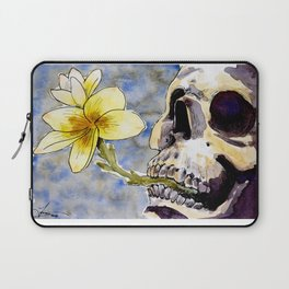 Life After Death - Yellow Flowers Laptop Sleeve