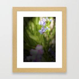 Bee in a Bell Framed Art Print